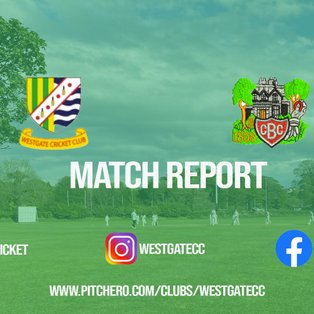 MATCH REPORT: Sam Frith and Dylan Conroy star as Westgate pick up very convincing win over Burneside