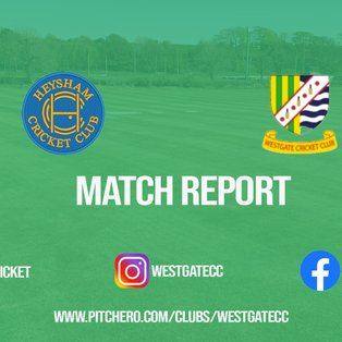 MATCH REPORT: Westgate fall to defeat against Heysham but still in the running for second place