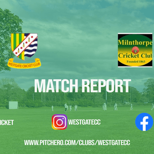 MATCH REPORT: Westgate pick up much needed win over Milnthorpe