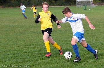 Chelmsford City Youth Football, U14s Whites (11) v Ellite Colts (0) (H): 20.10.13.       Image by: Spencer Moret