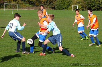 Chelmsford City Youth Football, U14s Whites (4) v Intersports (1) (H): 27.10.13