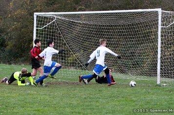 CCYFC Whites U14s (8) v Stones Athletic Black (1) Photo: Spencer Moret