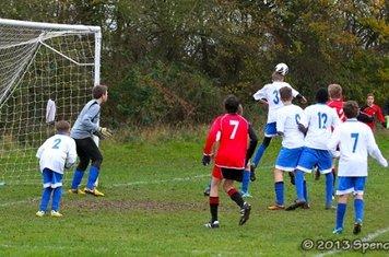 CCYFC Whites U14s (5) v  Brentwood Tigers (1) Photo: Spencer Moret