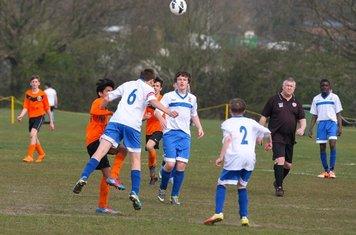 Division 4 champions CCYFC Whites U14s (2) v Herongate (2).  Image by: Spencer Moret