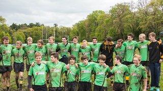 Bracknell u14 v Abbey to win 2013/14 League