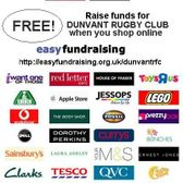 Easy Fundraising for Dunvant RFC