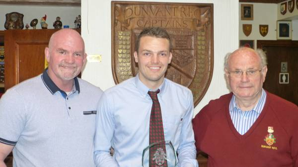 Adam Williams-Parry with father Michael Williams & Grandfather John 'Scout' Williams