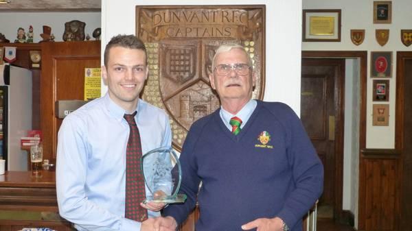 1stXV Special Achievement: Adam Williams-Parry-1000 points & 100 tries for 1stXV