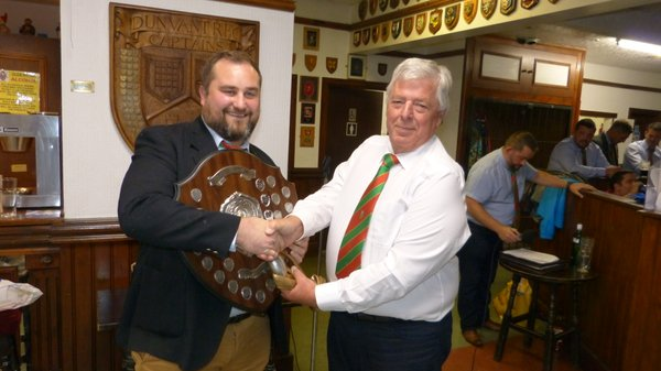 1stXV-Supporters Player of the Year: Ryan Shoemark