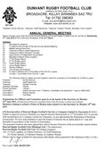 NOTICE OF ANNUAL GENERAL MEETING 31st July