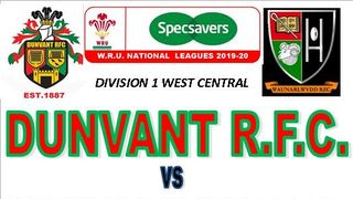 DUNVANT GET BONUS POINT WIN IN 1st HOME GAME (14thSep)