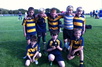 Well done U8's on winning third place in the Hastings Festival!