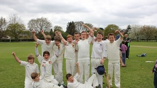Winning U11s team in WSCL Cup