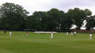 Three U11s boys take part in Twenty20 Academy match at Hurlingham CC