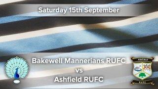 Senior Rugby Saturday 15th September