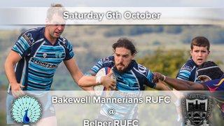 Senior Rugby Saturday 6th October