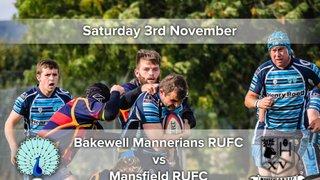 Senior Rugby Saturday 3rd November