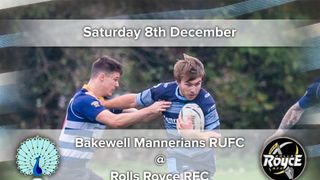 Senior Rugby Saturday 8th December