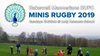 Bakewell Mannerians Minis Rugby 2019