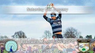 Senior Rugby Saturday 5th January
