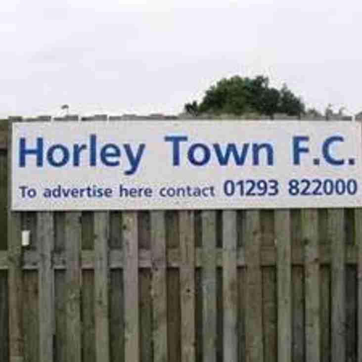 Horley & Shoreham to Donate Winnings