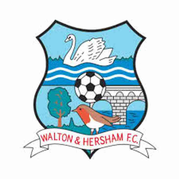 George steps down as Walton & Hersham manager