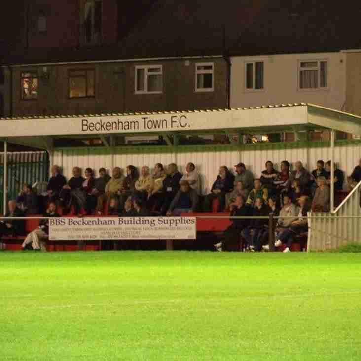 Match Report from Beckenham Town