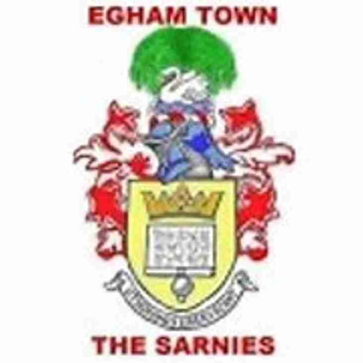 New Managers at Egham Town