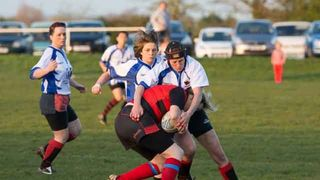 Gordano Piranhas v Old Redcliffians Ladies 9/4/14