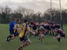 Orrell 1xv team continue to press at top of Lancashire/Cheshire 2