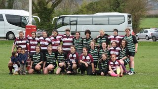 Belles playing against Bletchley - 12/4/14