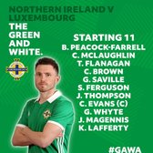 Corey Evans Captains Northern Ireland