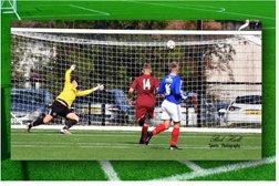 Firsts  v Albert Foundry, Irish Cup, 28/09/19.  GREENISLAND WIN 2-0