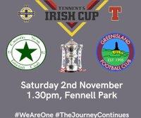 IRISH CUP NEXT ROUND