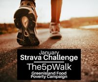 WALKING CHALLENGE GATHERS SUPPORT