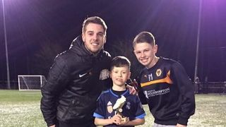 Well Done VFA Nuneaton player of the month Leo