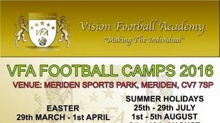 VFA SOCCER CAMPS 2016