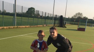 Well done to Vision Football Academy player of the month Martin #VFA #POTM