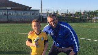 Well done to Vision Football Academy player of the month Peter #VFA #POTM