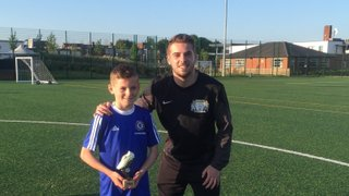 Well done to Vision Football Academy player of the month Jude #VFA #POTM
