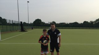 Well done to Vision Football Academy player of the month Josh #VFA #POTM