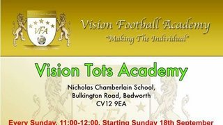 1 Week to go!!!! VFA Tots