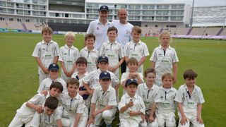 Easton & Martyr Worthy  U11B beat St cross by 6 wickets