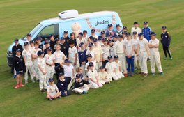 The Juniors start the season off with a visit from Jude's Ice Cream.