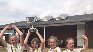 EMWCC U11 Girls Win the double!