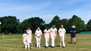 EMWCC U13 Girls Beat Ropley on a beautiful sunny morning on the first day of summer.