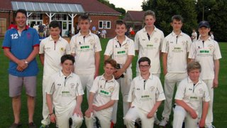 U15 league winners