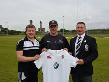 Workington Zebras welcome back Newcastle Falcons & England youth player Jamie Blamire.