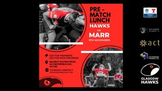 BOOK NOW FOR MARR LUNCH