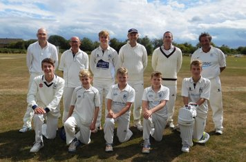 3rd XI vs. St George Valley CC  2nds in July.